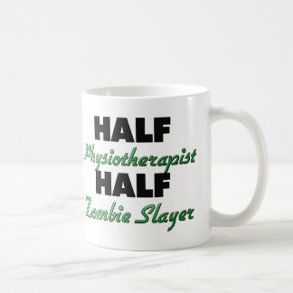 Half Physiotherapist Half Zombie Slayer Coffee Mug
