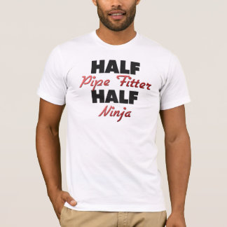 Half Pipe Fitter Half Ninja T-Shirt