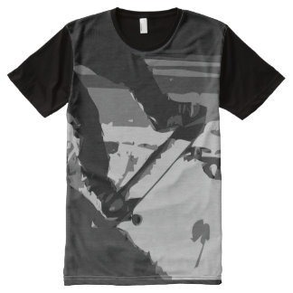 Half pipe Skateboarding All-Over Print T-Shirt