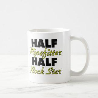 Half Pipefitter Half Rock Star Mugs