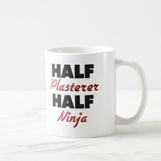 Half Plasterer Half Ninja Coffee Mug