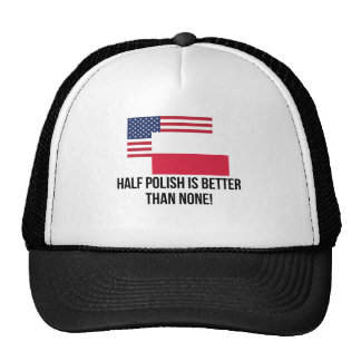 Half Polish Is Better Than None Cap