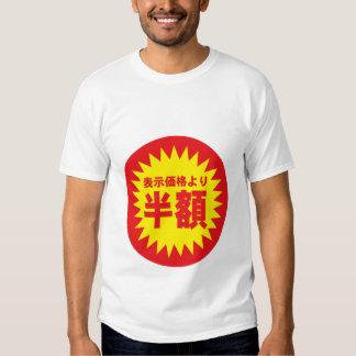 Half price tshirts