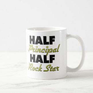 Half Principal Half Rock Star Mugs