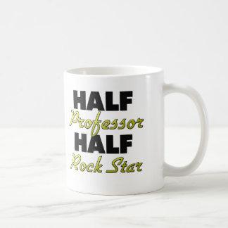 Half Professor Half Rock Star Basic White Mug