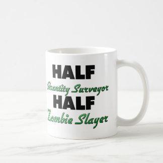 Half Quantity Surveyor Half Zombie Slayer Coffee Mug