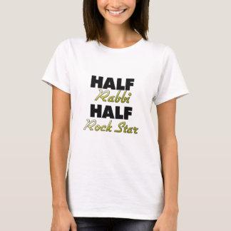 Half Rabbi Half Rock Star T-Shirt