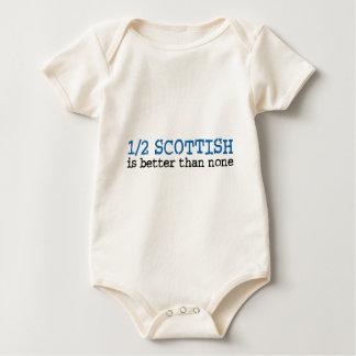 Half Scottish Baby Bodysuit