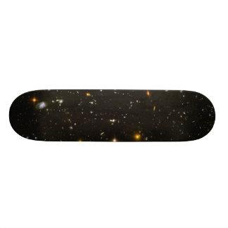 Half-Size Version of the Hubble Ultra Deep Field 20.6 Cm Skateboard Deck