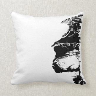 Half skull cushion