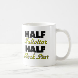 Half Solicitor Half Rock Star Coffee Mug