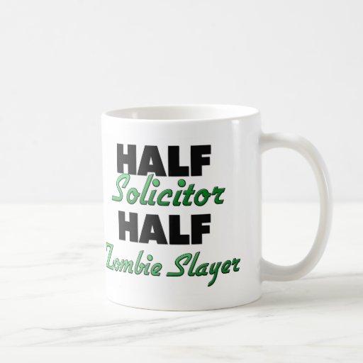 Half Solicitor Half Zombie Slayer Coffee Mug