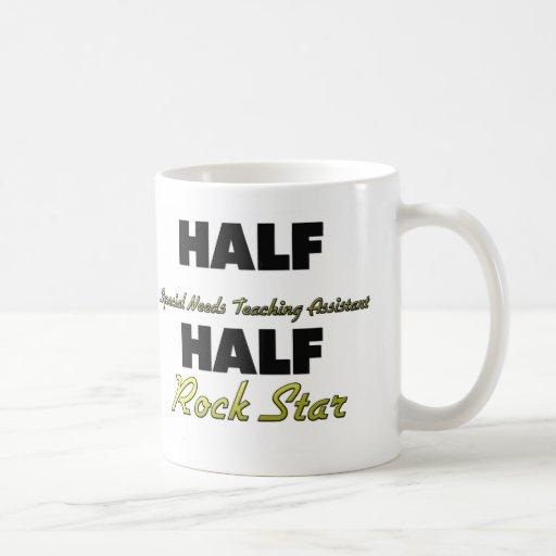 Half Special Needs Teaching Assistant Half Rock St Coffee Mugs