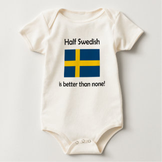 Half Swedish Baby Bodysuit