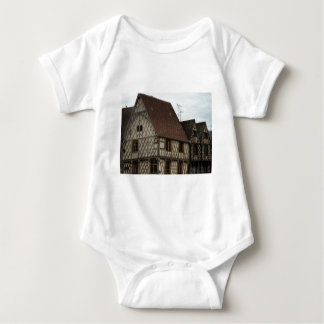 half-timbered house t shirt