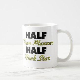 Half Town Planner Half Rock Star Mug