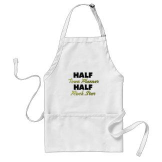 Half Town Planner Half Rock Star Standard Apron