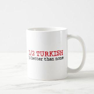 Half Turkish Basic White Mug