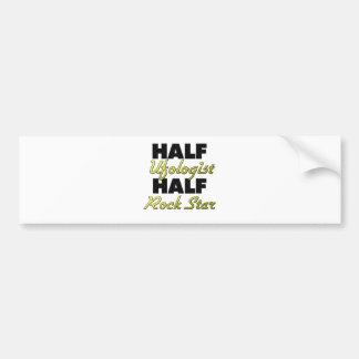 Half Ufologist Half Rock Star Bumper Stickers
