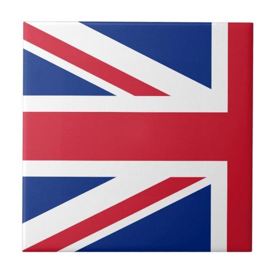 Half Union Jack Tile
