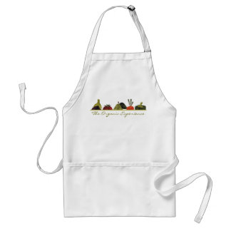 half veggies fruits cooking t-shirt kitchen app... apron