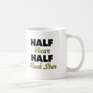 Half Vicar Half Rock Star Coffee Mug