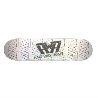 Half Way Home Sketch Deck Skateboard Deck