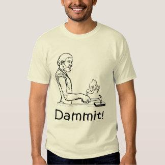 Half-wit dark passenger - baby duck revenge shirt