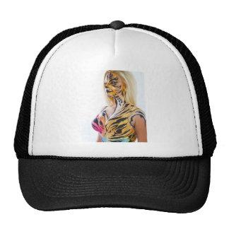 Half woman / Half Tiger Cap