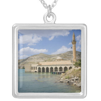Halfeti Merkez Camii Central Mosque) partly Silver Plated Necklace