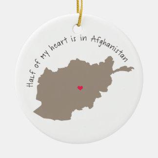 halfheartafghanistan.png christmas ornament