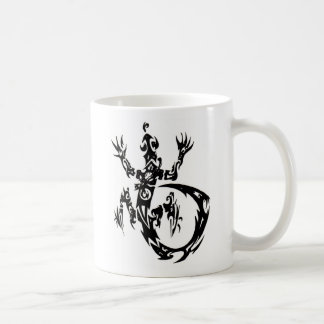 Halfmast logo gecko mug