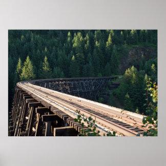 Halfmoon Trestle Bridge 22 28 x20 Poster B