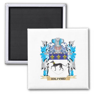 Halford Coat of Arms - Family Crest Square Magnet