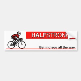 halfstrongbumper bumper sticker