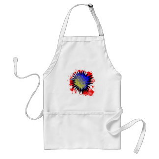 Halftone Comic Exclamation Standard Apron