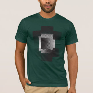 Halftone geometry T-Shirt
