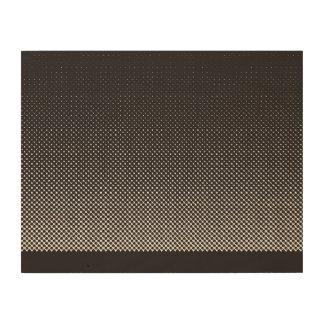 halftone mix wood prints
