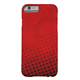 Halftone pattern background barely there iPhone 6 case