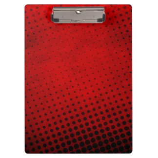 Halftone pattern background clipboard