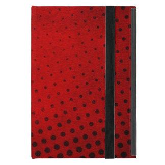 Halftone pattern background iPad mini case