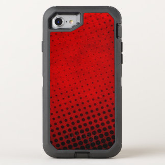Halftone pattern background OtterBox defender iPhone 8/7 case