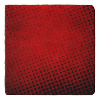 Halftone pattern background trivet