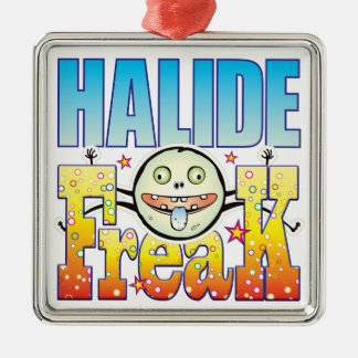 Halide Freaky Freak Silver-Colored Square Decoration