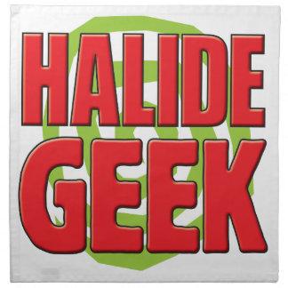 Halide Geek Printed Napkin
