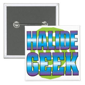 Halide Geek v3 Pinback Buttons