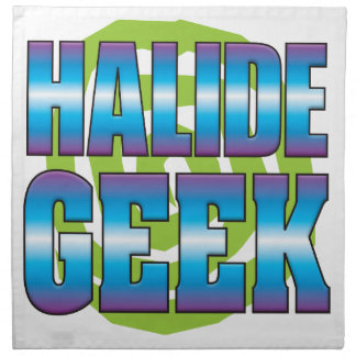 Halide Geek v3 Printed Napkins