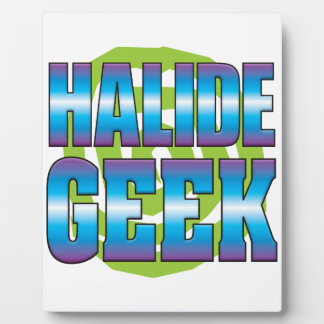 Halide Geek v3 Photo Plaques