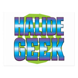 Halide Geek v3 Post Card