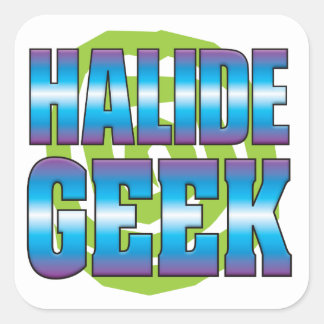 Halide Geek v3 Square Sticker
